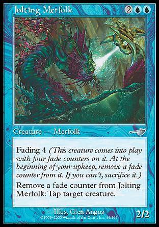 jolting merfolk nemesis magic the gathering single wizards cupboard