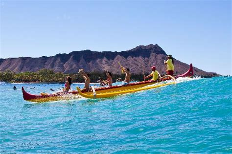 Canoes Beach Oahu by Outrigger Canoe Surfing Picture Of Honolulu Oahu