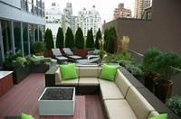 fine roof garden design Furniture Decoration For Rooftop Garden