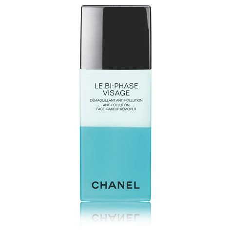 le bi phase visage anti pollution makeup remover skincare chanel