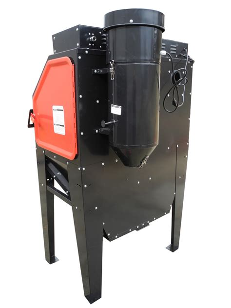 redline engineering re40 abrasive sand blasting cabinet