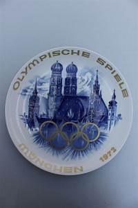 Porzellan Bemalen München : wandteller olympische spiele m nchen 1972 porzellan manufaktur m nchen ebay ~ Markanthonyermac.com Haus und Dekorationen