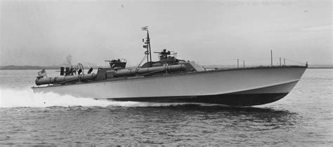 Pt Boat Full Speed by Pt 117 80 Elco 2 Packard 5m 2500 Eng 200gph Cruise