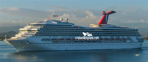 carnival triumph deck plans cabin diagrams pictures