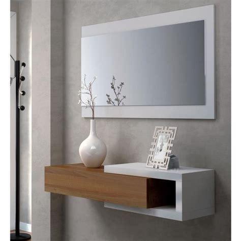 noon console d entr 233 e style contemporain blanc l 95 cm achat vente meuble d entr 233 e noon