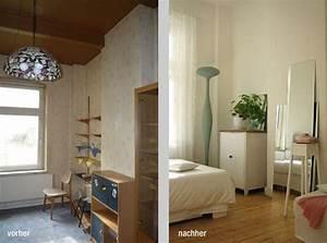 Schlafzimmer Vorher Nachher : vorher nachher schlafzimmerecke 1 ~ Markanthonyermac.com Haus und Dekorationen