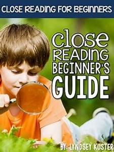 FREE Close Reading Beginner's Guide! by Lyndsey Kuster | TpT