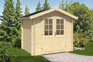 Gerätehaus Holz Klein : kleines holz gartenhaus anita s 4m 28mm 2x2 hansagarten24 ~ Markanthonyermac.com Haus und Dekorationen