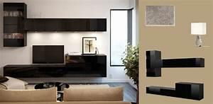 Tv Bank Schwarz : best tv bank hochglanz schwarz und wandschr nke mit glast ren living pinterest wohnzimmer ~ Markanthonyermac.com Haus und Dekorationen