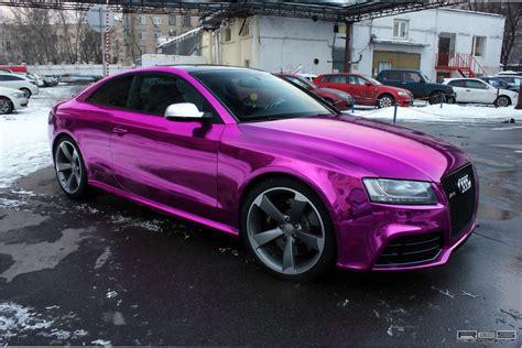 Audi Rs5 Chrome Purple Wrap