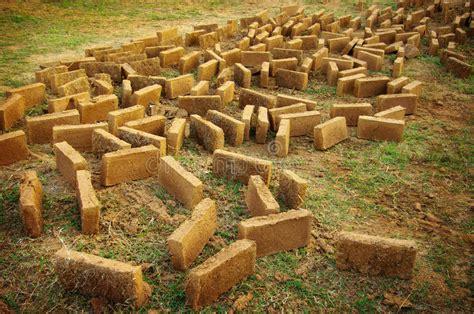 brique d argile pour la construction la maison d argile photo stock image 25558252