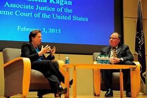 Justice Elena Kagan visits law school, discusses law ...