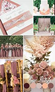 Rose Gold Wandfarbe : rose gold wedding decor ideas by casual wedding cake ~ Markanthonyermac.com Haus und Dekorationen
