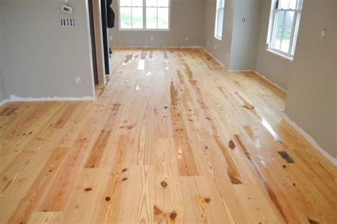 how to finish yellow pine floors without poly newlywoodwards
