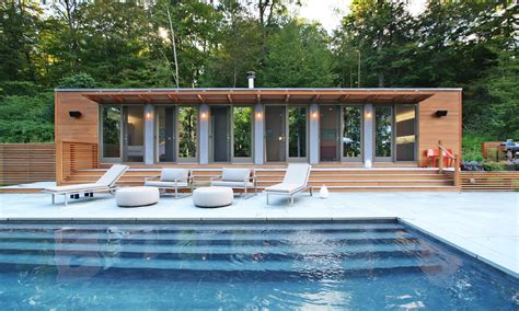 Pool House Designs With Stunning Exterior Space-traba Homes