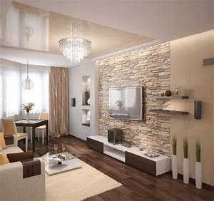 Moderne Tapeten Wohnzimmer : die besten 17 ideen zu steinwand wohnzimmer auf pinterest tv wand hifi forum tv wand forum ~ Markanthonyermac.com Haus und Dekorationen