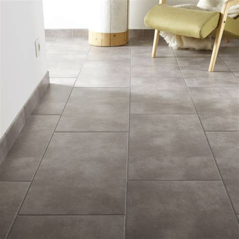 carrelage sol et mur gris clair effet b 233 ton soho l 30 8 x l 61 5 cm leroy merlin
