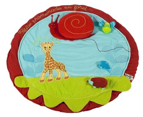 vulli tapis eveil la girafe doudouplanet