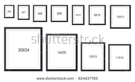 what are standard frame sizes ilcasaleinfo