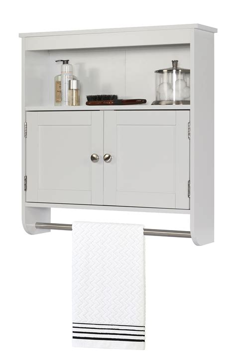 wall cabinet with towel bar home furniture bathroom furniture bathroom cabinets