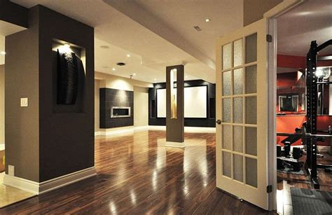 22 Finished Basement Contemporary Design Ideas Glue For Laminate Flooring Average Cost To Have Installed Zebrano Spongy Floor Hillington Accessories Uniclic Review Mopping Floors