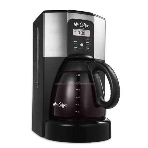 Mr. Coffee® Performance Brew 12 Cup Programmable Coffee Maker Stainless Steel, ECX41CP