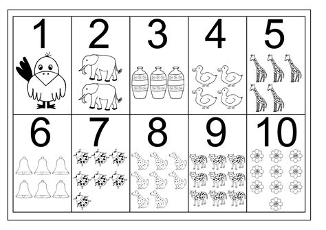 Pre K Worksheets Number  Printable Shelter