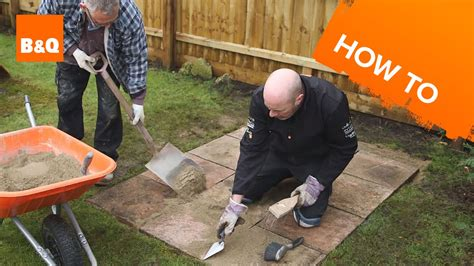 How To Lay A Shed Base Youtube