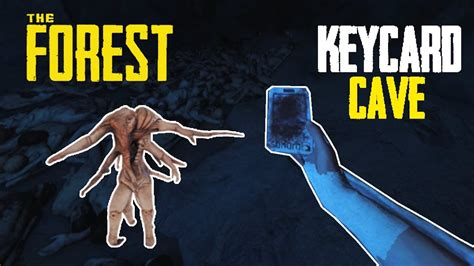 Yacht Keycard by Keycard Cave The Forest Gameplay Youtube