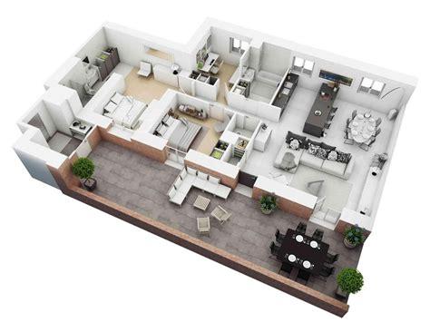 3d floor plan image 2 for the 1 bedroom studio floor plan 3d home floor plan ideas android apps on play