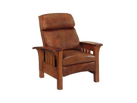 stickley furniture 89 406 rl bustle back bow arm morris recliner interiors c hill