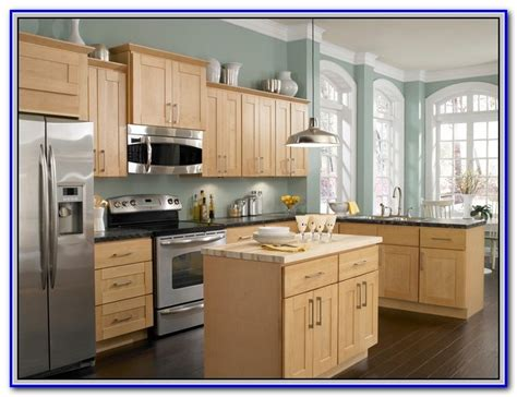 Paint Colors For Honey Maple Cabinets Painting  Home