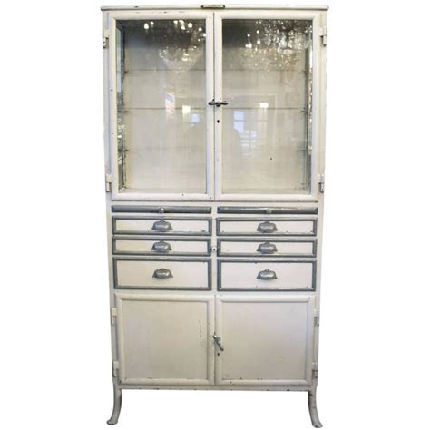 1890s dental cabinet with drawers and glass shelves for sale at 1stdibs