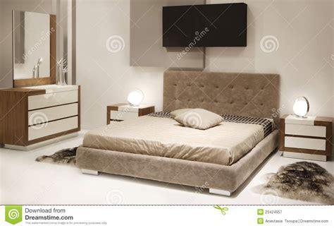 chambre 224 coucher moderne image stock image du r 234 ve