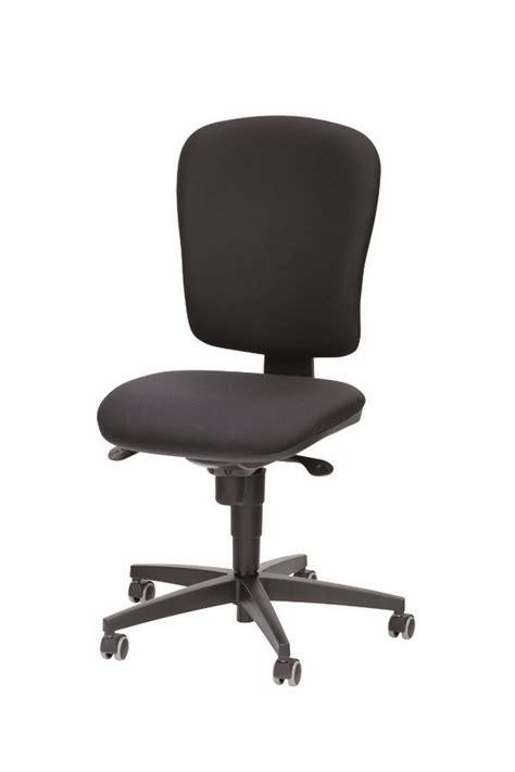 chaise de bureau jump tissu noir sol dur