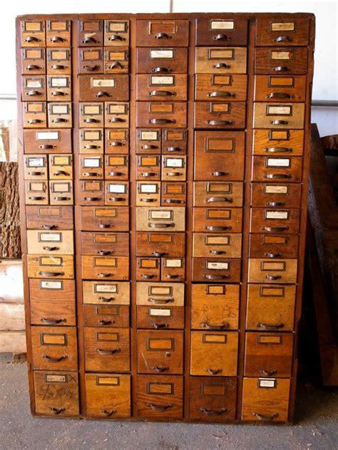 la fabrique 224 d 233 co meubles de classement 224 tiroirs le quot card catalogue quot dans la d 233 co