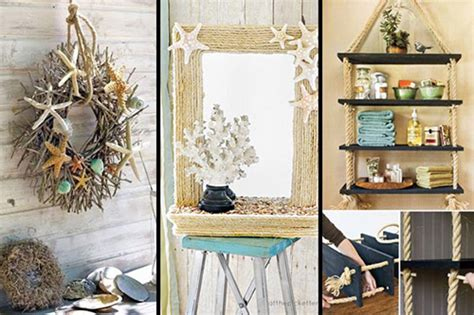 Breezy Beach Inspired Diy Home Decorating Ideas-lil