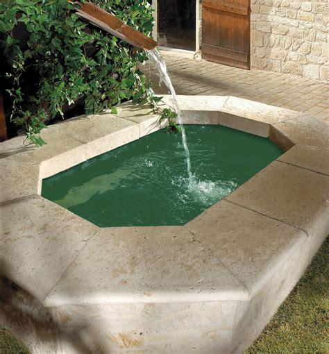 je veux une fontaine dans mon jardin