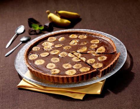 tarte rapide banane et chocolat ma cuisine en