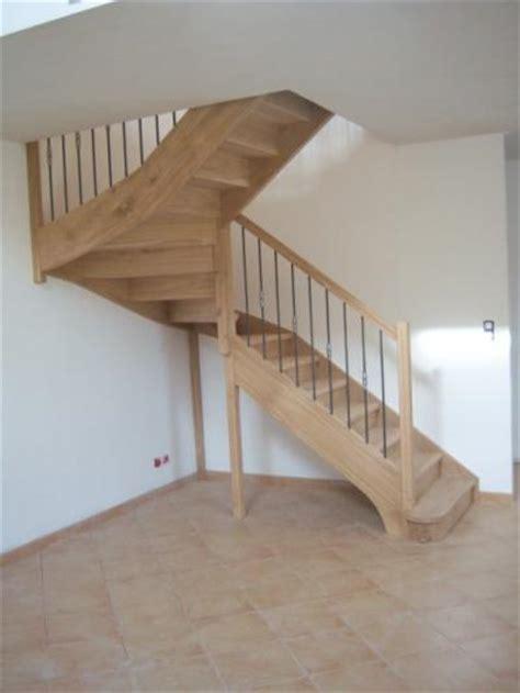escalier artisanal demi tournant chene al 232 s gard les angles nimes