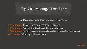 10 Tips For Better One on One Meetings