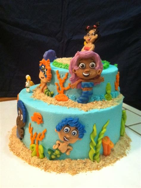 guppy cake cakecentral