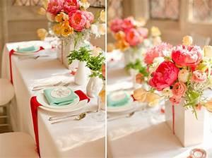Deko Für Hochzeit : farbenfrohe vintage hochzeit ~ Markanthonyermac.com Haus und Dekorationen