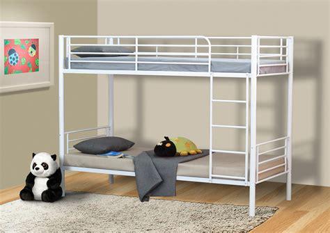 lits superpos 233 s enfant s 233 parables en m 233 tal blanc clusa lits superpos 233 s chambre enfant chambre