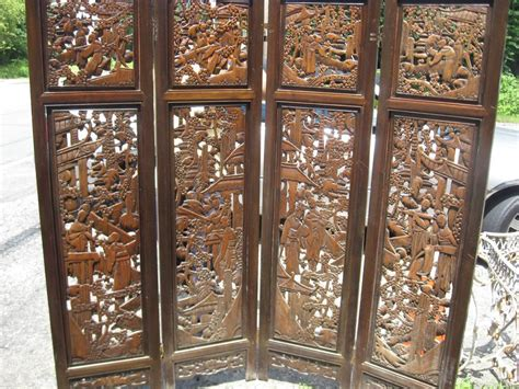 Chinese Carved Screen/room Divider