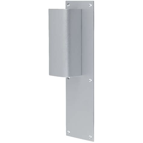poign 233 e de porte pali 232 re simple argent bec de
