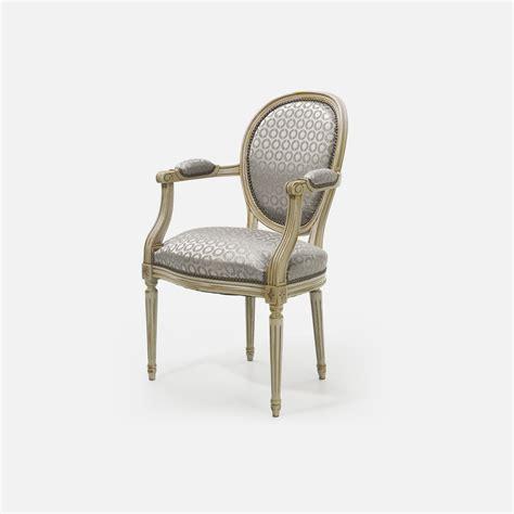 fauteuil louis xvi medaillon collinet