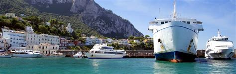 Hydrofoil Boat From Sorrento To Capri by Getting To Capri From Naples Sorrento Or Rome Capri