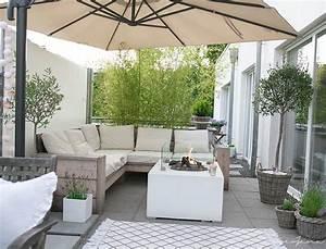 Terrassengestaltung Kleine Terrassen : loungegarnitur diy uterom pinterest polster ikea und dachterrassen ~ Markanthonyermac.com Haus und Dekorationen