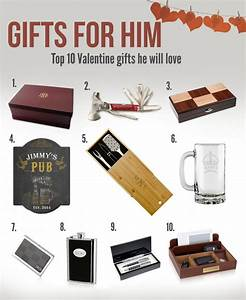 Top Ten Valentine Gifts For Him - Memorable Gifts Blog ...